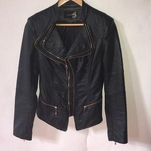 Attentif leather jackets.